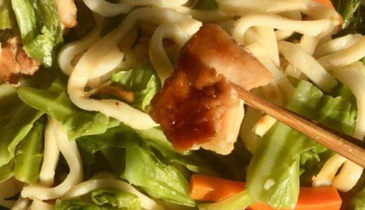 ホットクックレシピ:手抜きしてるのに激ウマ焼うどんが作れます。ものすごく簡単でとにかく時短