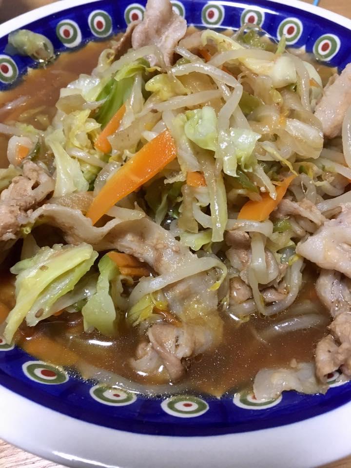 ホットクックレシピ:カット野菜で簡単野菜炒め【時短レシピ